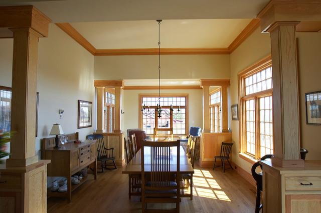 Farm House - Western Albemarle farmhouse-dining-room