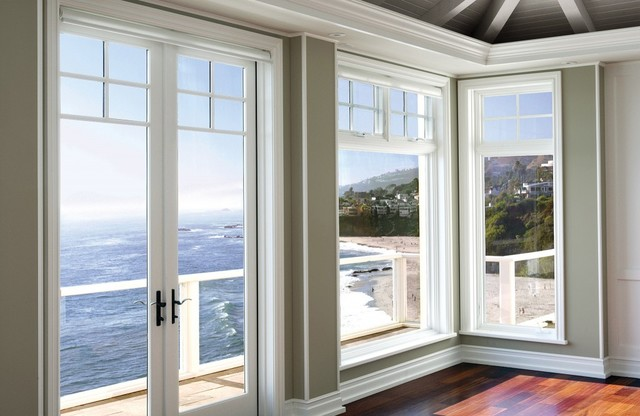 Custom homes for Luxury home windows