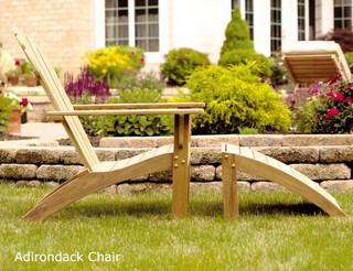 Teak Adirondack Chair - Modern - Adirondack Chairs - by ...