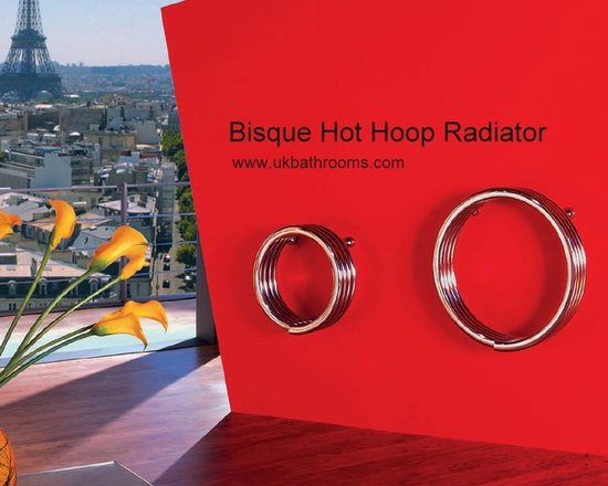 Bisque Hot Hoop Radiator -