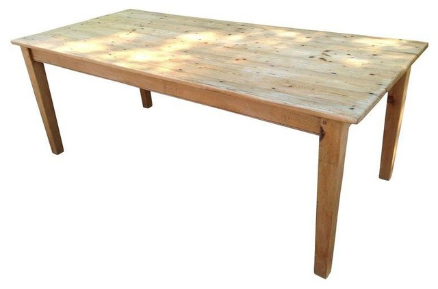English Pine Dining Farm Table Rustic Dining Tables By Chairish
