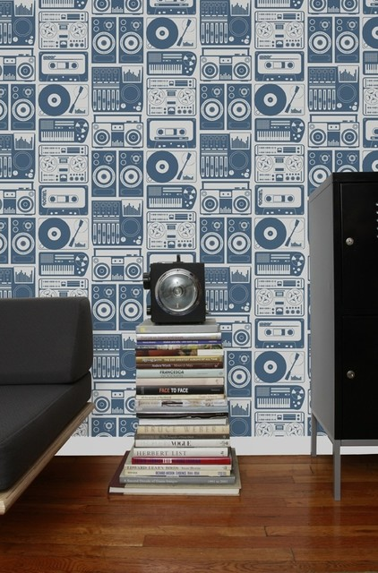 Aimee Wilder Wallpaper - Analog Nights eclectic wallpaper