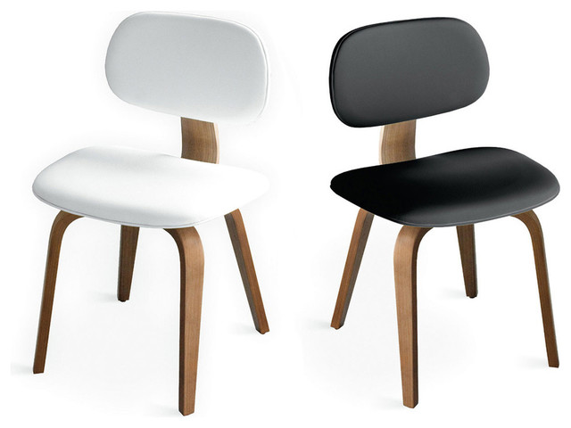 Thompson Upholstered Molded Plywood Dining Chair modern-dining-chairs