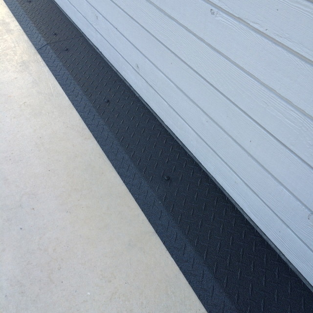 Super Seal 4 Rubber W Tube Garage Door Weather Seal 100 Roll together with Application furthermore Ideas For Creative Industrial Work Space as well Round Aluminum Plate Aluminum Plate Prices Aluminum Diamond Plate Prices likewise Landscape Water Features. on diamond plate garage wall