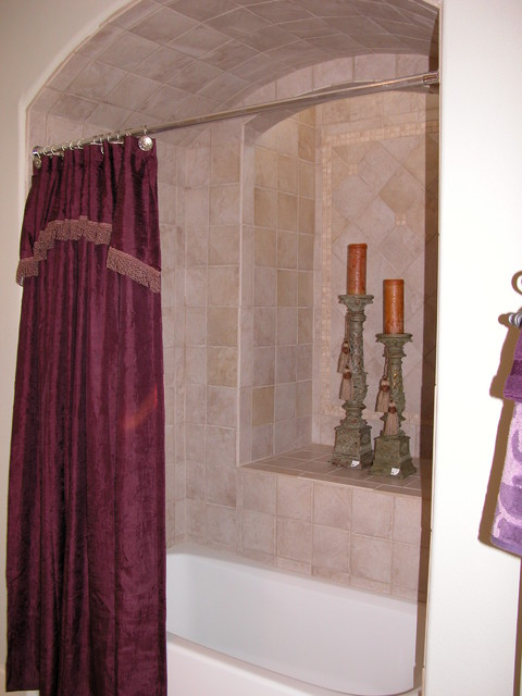 New construction traditional-bathroom