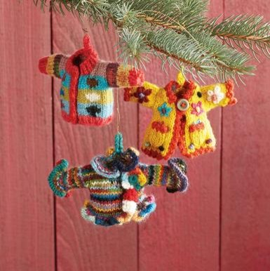 eclectic holiday decorations by Sundance Catalog