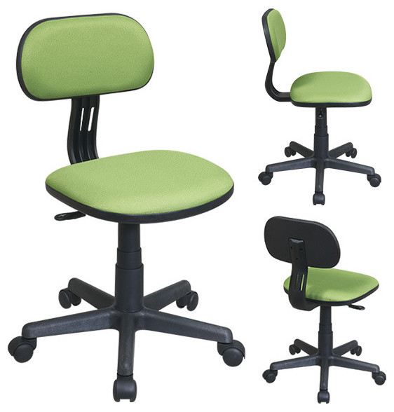 green fabric task office chair traditional office chairs atlanta