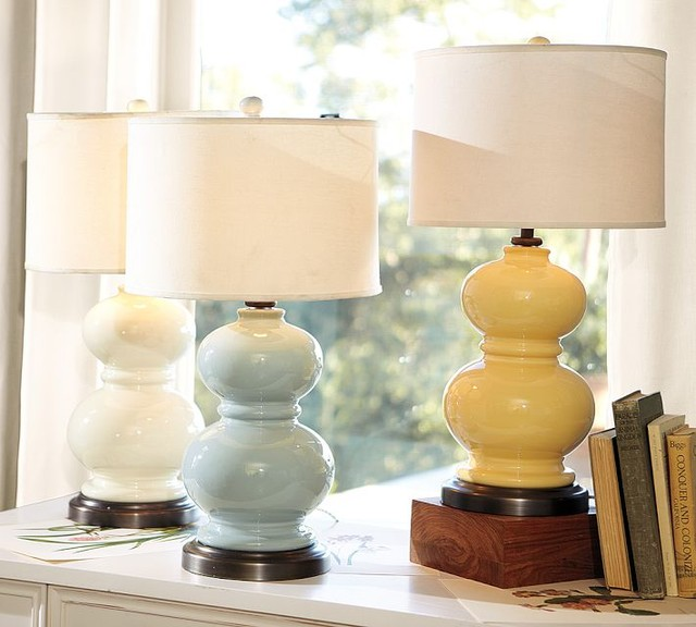 Alexis ceramic table lamp base traditional lamp bases - Traditional table lamps for bedroom ...