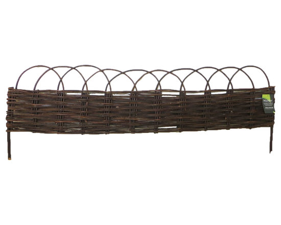 """Master Garden Products - Arch Top Woven Willow Raised Bed Kit, 48""""W x 48""""L x 10""""H - Willow is seen much around Europe and are commonly used in English gardens. Bring some old world charm home to your garden. These magnificent arch top willow panel raised bed will inspire any gardener.  Liner installation is strongly recommended for this product. Our raised bed kits come complete with all willow panels, cedar wood stakes and wire tie necessary for you to set up your raised bed in minutes."""