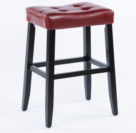 Portman Saddle Stool Traditional Bar Stools And