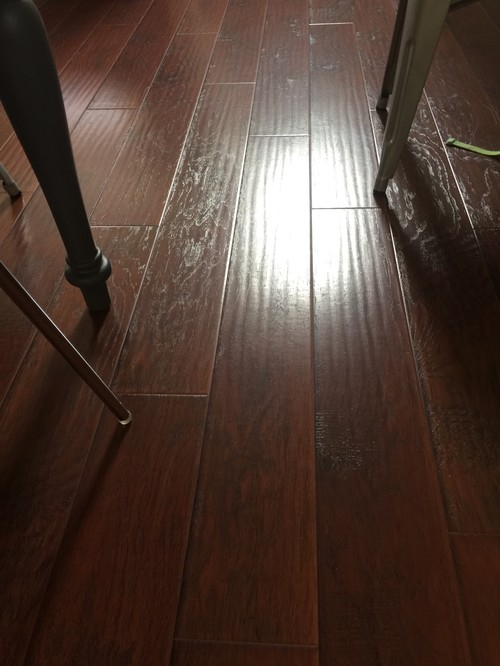 how to clean dust from laminate floor