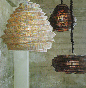 Bamboo Cloud Chandelier contemporary-chandeliers