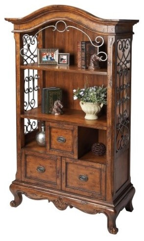 Butler Bookcase - Connoisseur traditional-bookcases