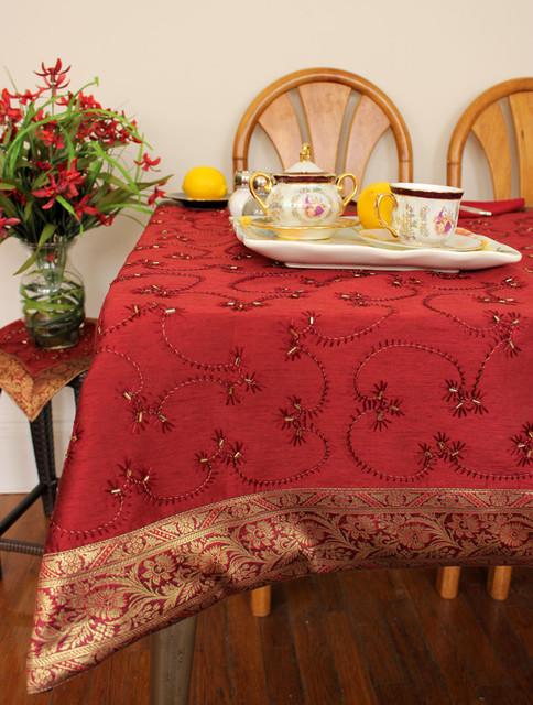 Unique & Decorative Tablecloths contemporary-tablecloths