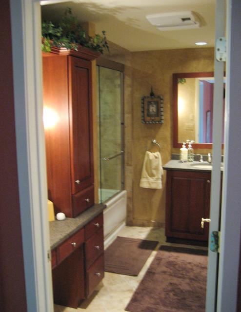 Inviting guest bath traditional-bathroom