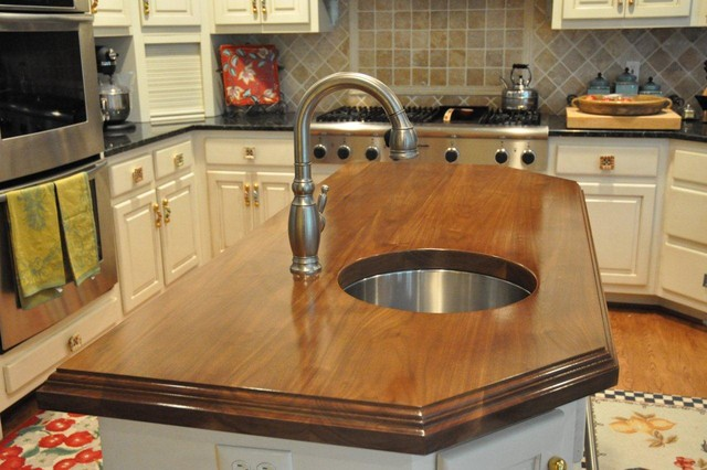 ... Countertops by The Southside Woodshop traditional-kitchen-countertops