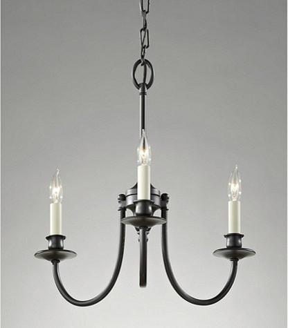Dolan 3-Light Chandelier traditional-chandeliers