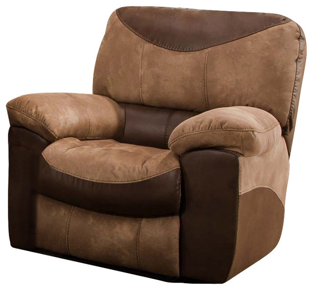 Catnapper portman chaise rocker recliner chair in saddle for Catnapper teddy bear chaise recliner