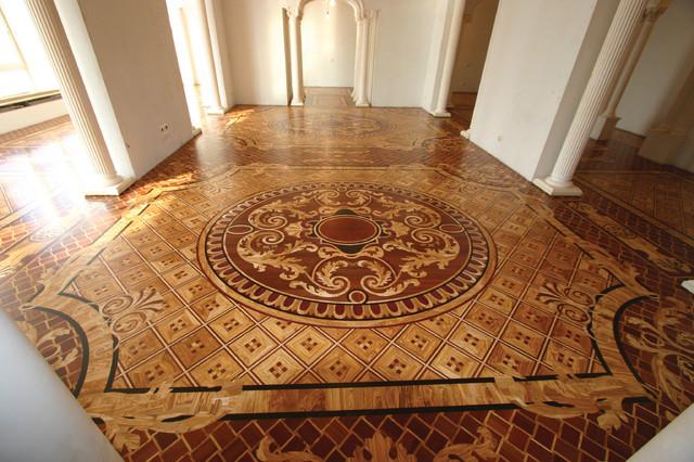 Wood Medallion Royal Traditional Hardwood Flooring