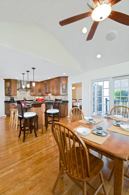McLean Kitchen Renovation Opens To Beautiful Outdoor Structures traditional-kitchen