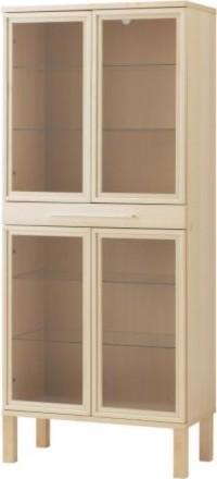 BJURSTA Glass-door cabinet modern-storage-cabinets