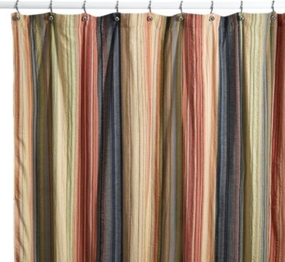 Retro Chic 72 Inch X 96 Inch Fabric Shower Curtain Contemporary Shower Curtains By Bed