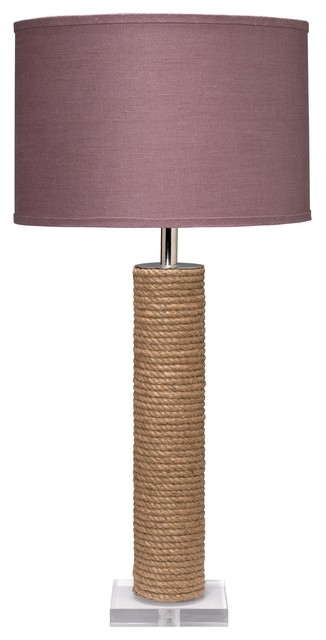 Jamie Young Co. Cylinder Jute Table Lamp traditional-table-lamps