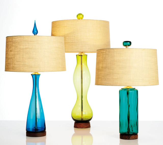glass iconic mid century modern table lamps contemporary table lamps