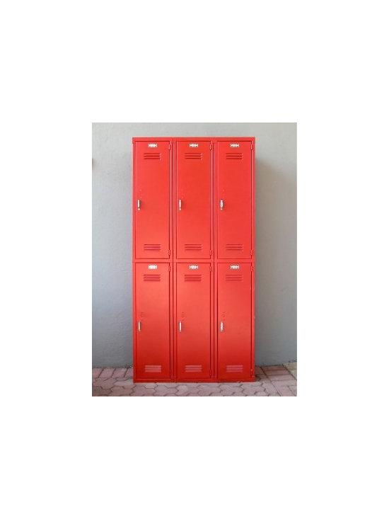 Red Lockers -