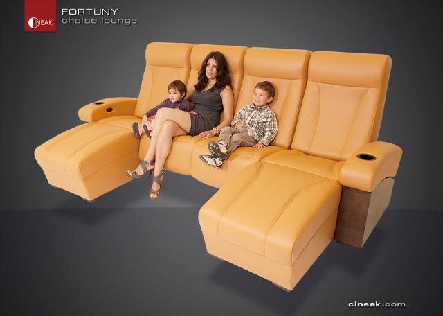 CINEAK Fortuny Luxury Home Theater Seats Modern By