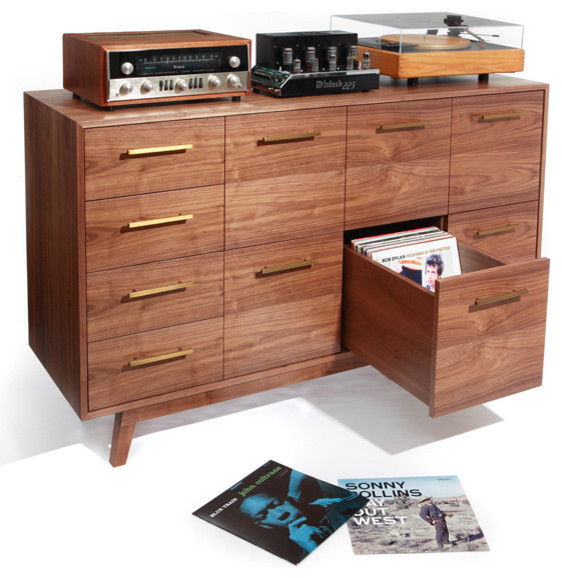 Atocha Design LP/CD Record Cabinet