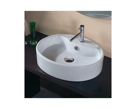 Ceramica II Sink by WS Bath Collections Model LVO 808 -