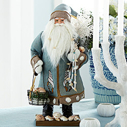 Seaside Santa - New holiday-accents-and-figurines