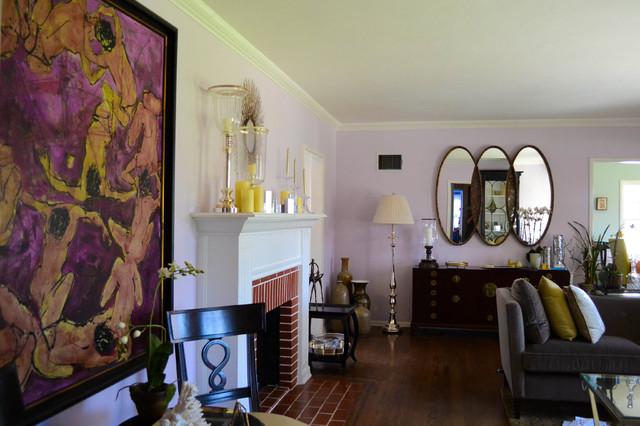 Deodar House eclectic-living-room