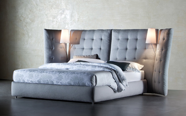 Flou Angle Storage Bed contemporary-beds