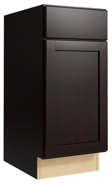 Cardell Cabinets Pallini 15 in. W x 34 in. H Vanity ...