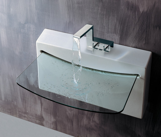 BLOCK Sink # 4500G - contemporary - bathroom sinks - by LACAVA