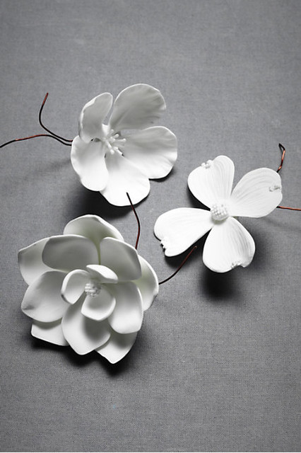 Porcelain Bloom modern accessories and decor