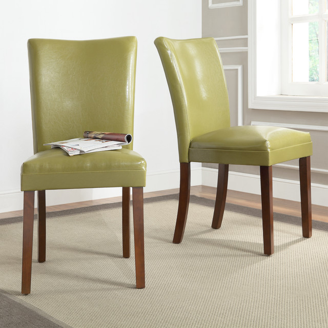 Estonia Olive Green Upholstered Dining - Contemporary ...