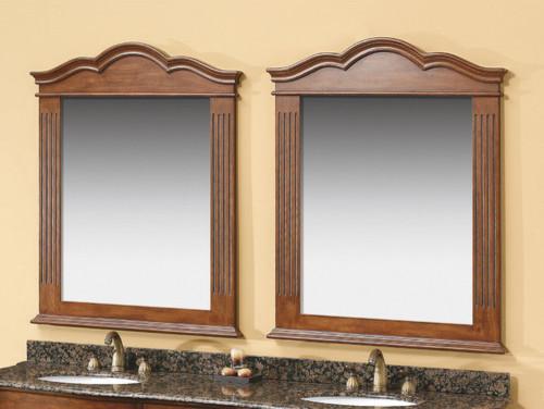 "Dalia 42"" x 32.5"" Vanity Mirror modern-bathroom-mirrors"