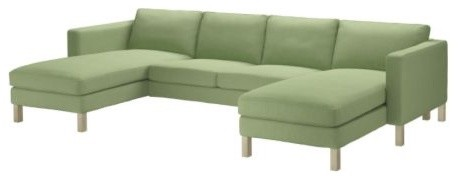 KARLSTAD 2 chaise lounges and loveseat modern-sectional-sofas
