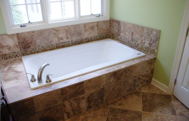 Fairfax master bath tub contemporary bathroom for Bathtub in bathroom