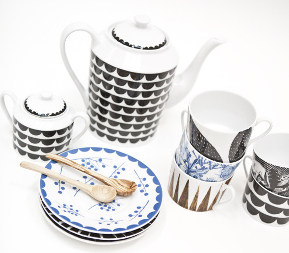 New Procelain Line from Elisabeth Dunker and Anna Backlund for Rym contemporary dinnerware