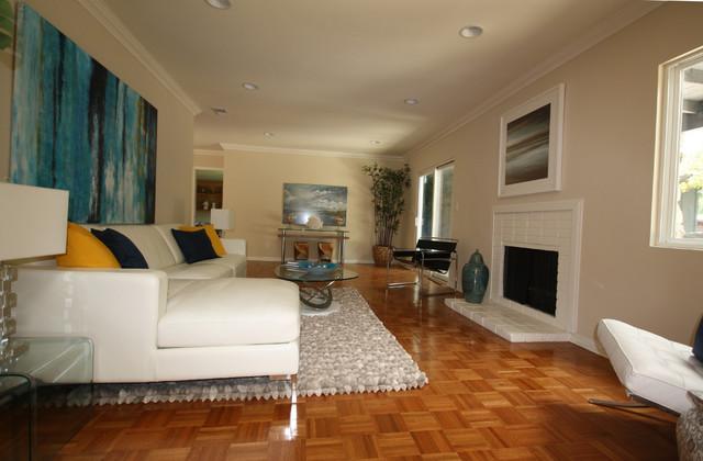 Wonderland Park contemporary-living-room