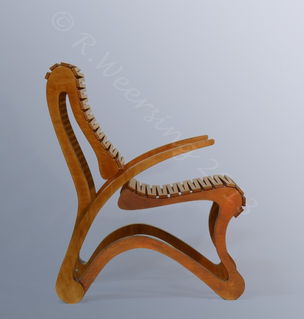 """""""Ampersand"""" modular seating pieces contemporary-living-room-chairs"""
