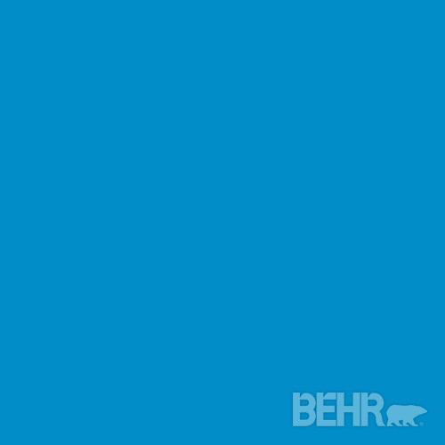 Contemporary bathroom vanity lighting - Behr Marquee Paint Color Celebration Blue Mq4 57 Modern Paint