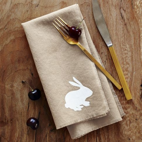Easter Napkin Set contemporary table linens