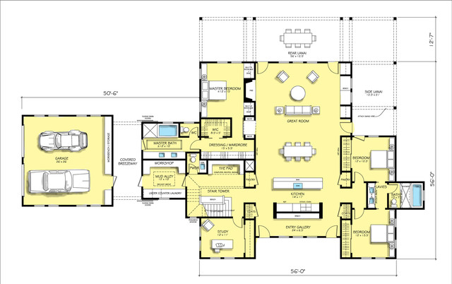 House Plan 888 1 Farmhouse Floor Plan San Francisco: large farmhouse plans