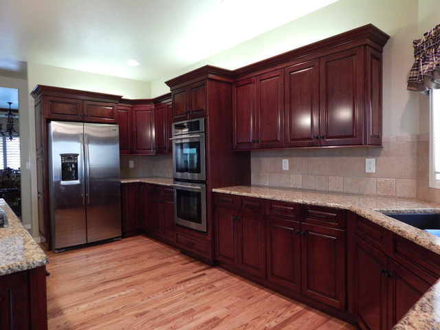 Cabinet Reface - Traditional - Kitchen Cabinetry - denver - by Custom Classic Cabinetry