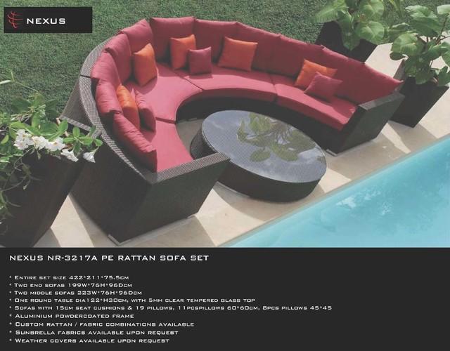 NEXUS PRODUCTS modern-outdoor-sofas